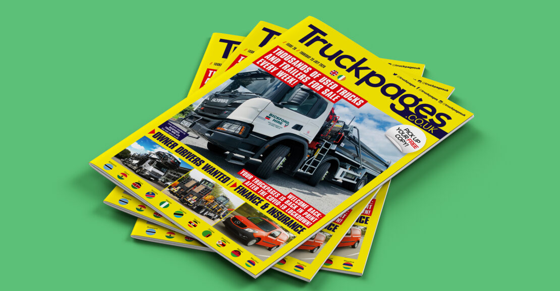 Truckpages issue 26 cover