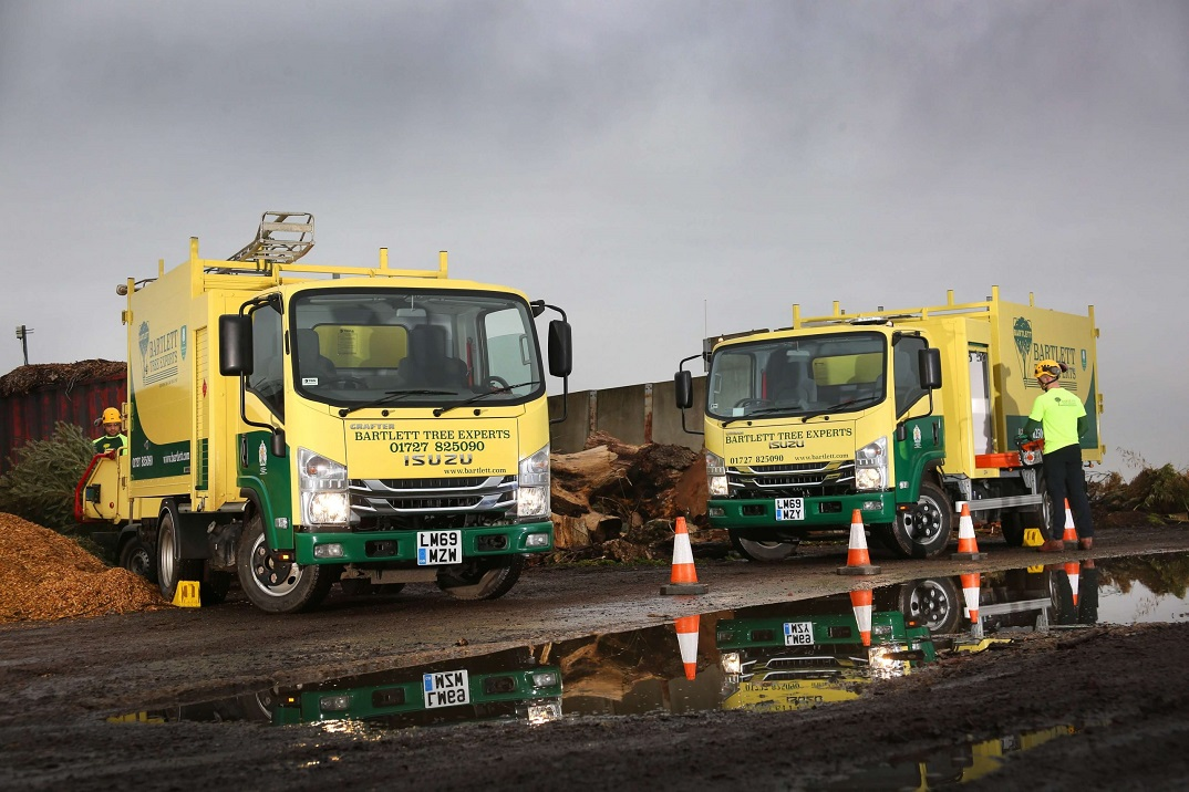 Isuzu Grafters for Tree Experts