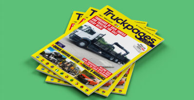 Truckpages Issue 27 front cover