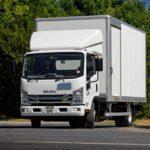 Isuzu N75 Rigid Box Truck