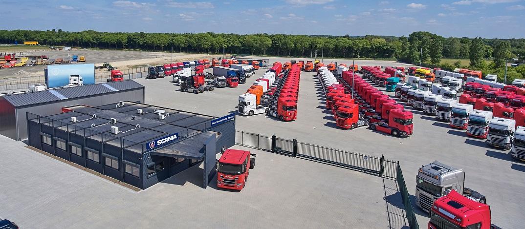 the Scania Truck Center in Wijchen near Nijmegen
