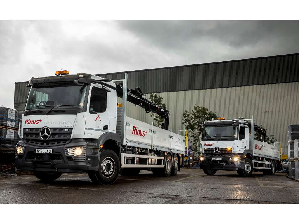 Mercedes Arocs from Bell Truck & Van