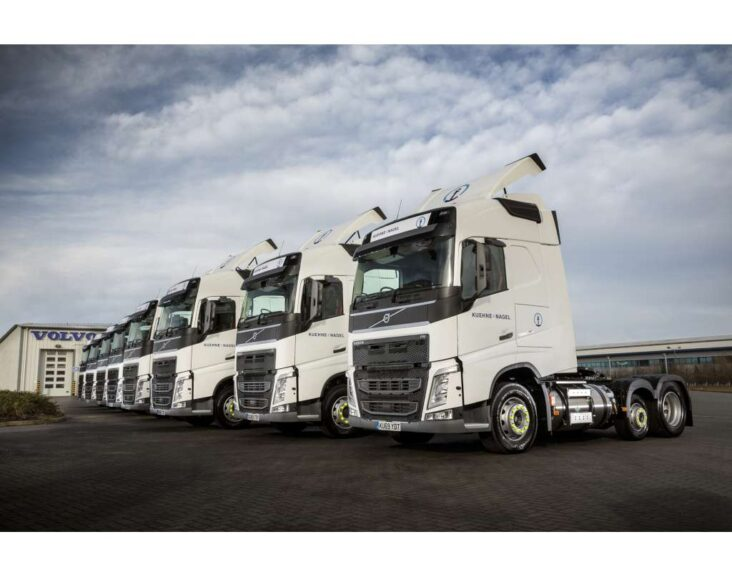 Volvo FH LNG Gas Trucks