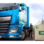 DAF Truck filling with HVO