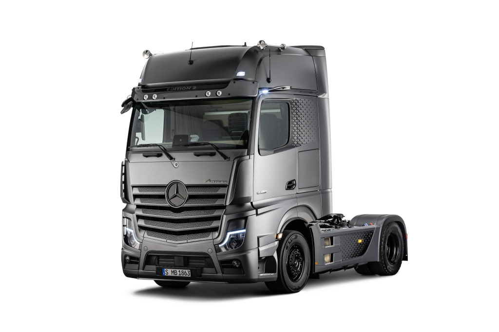 Mercedes Actros 2 Limited Edition