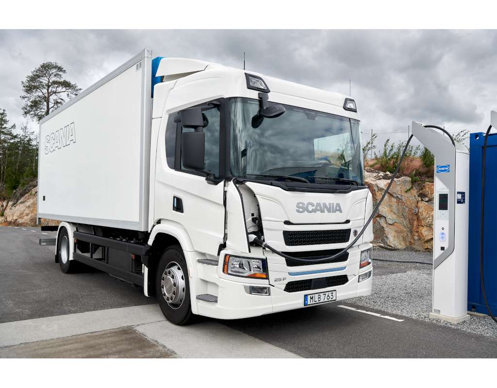 Refuelling the P Series SCania Electric