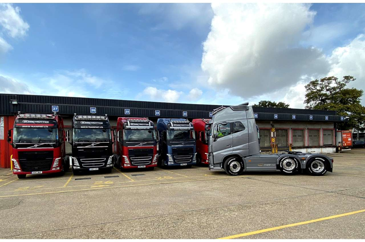 Used Volvo FH Tractor Unit Line Up for MAH UK 1