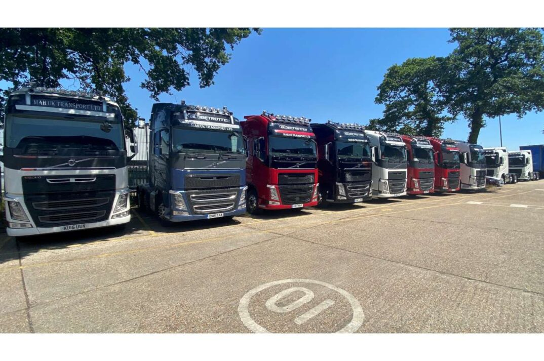Used Volvo FH Tractor Unit Line Up for MAH UK 3