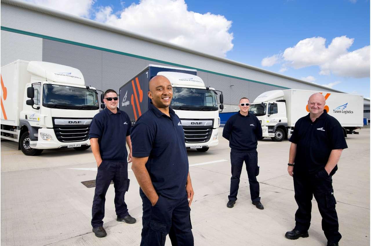 Yusen Logistics (UK)  and their DAF Trucks
