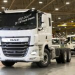 DAF CF 6x4 100,000th built at Leyland