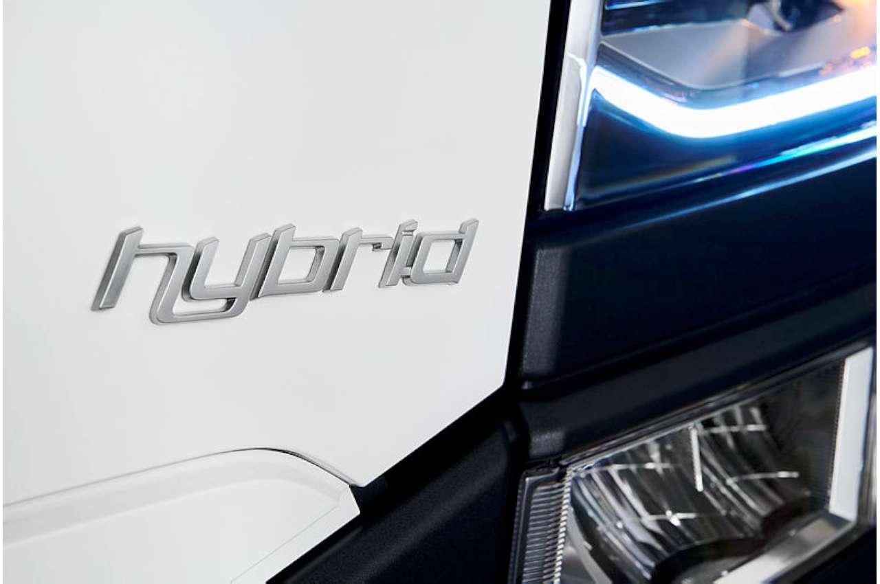 Scania Hybrid Logo