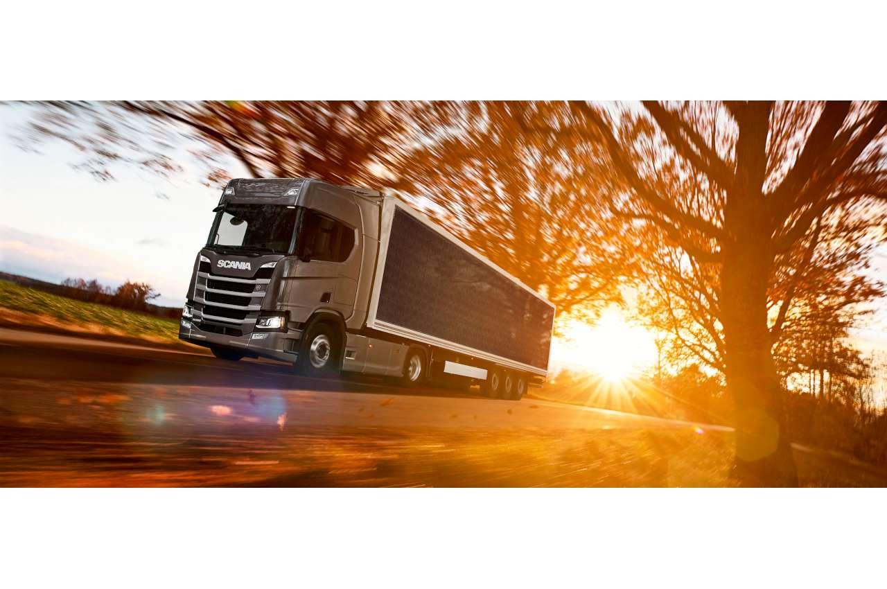 Scania Solar Semi Trailer