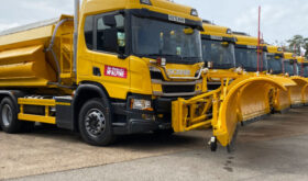 Scania P Series Gritters lineup