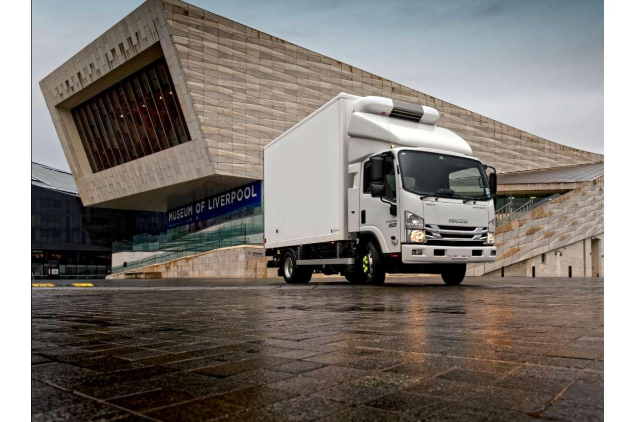 Isuzu N75.150 fridge Truck
