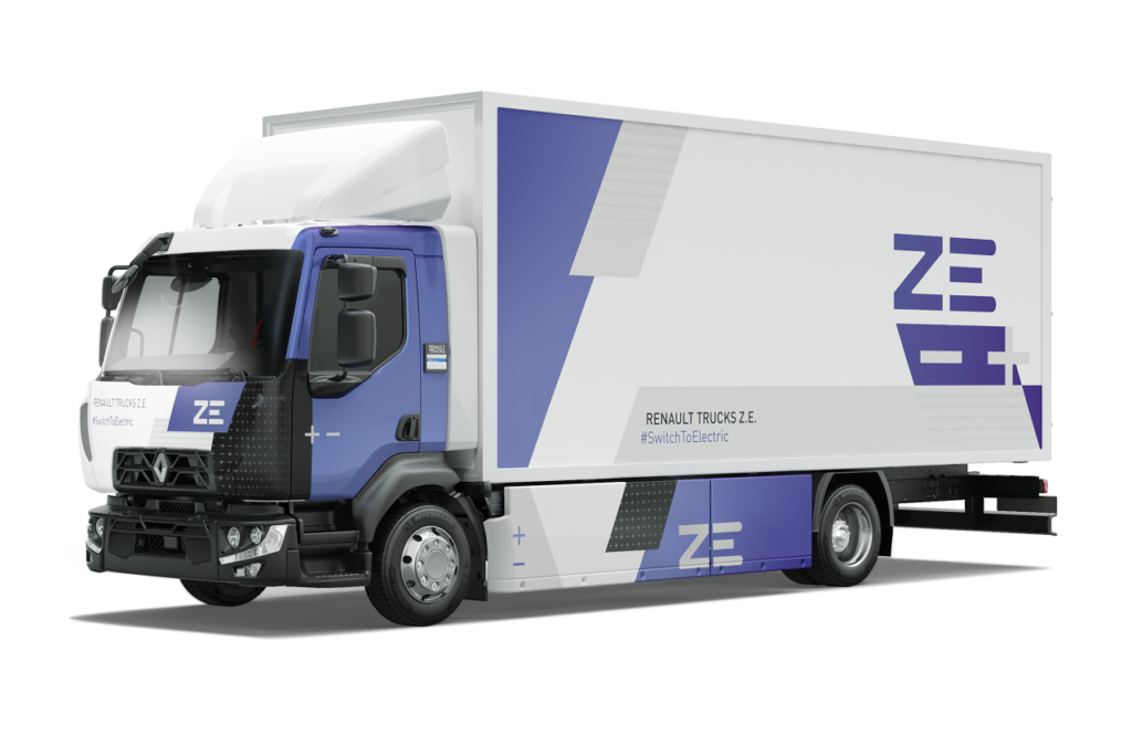 Renault Trucks Range D Electric