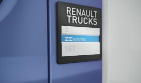 Renault Trucks ZE Electric Badge