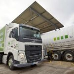 One of Asda's 200+Volvo FH460 LNG Trucks at Refuelling Point