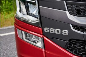 Scania S Series 660S Badge