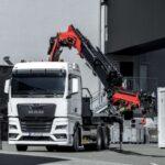 MAN TGX Crane Truck