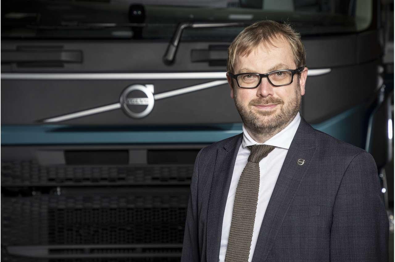 Carl White - Used Truck Director for Volvo Trucks UK & Ireland