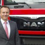 Thomas Hemmerich, CEO of MAN Truck & Bus UK Ltd