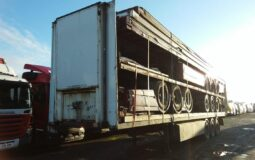 Stacks of trailers for sale