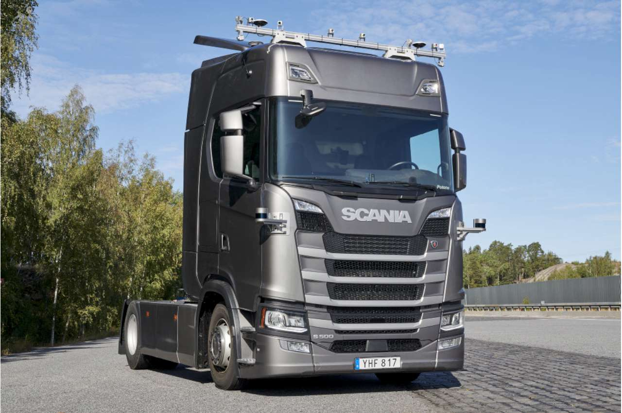 Scania 500S S Series Autonomous Kit