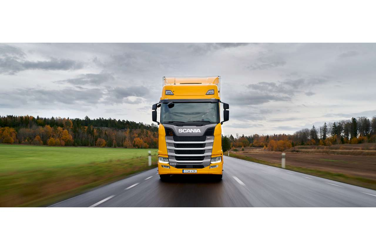 Scania S Series 540S on Test