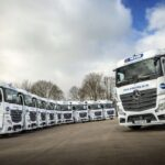 Mercedes Actros Display UK haulier
