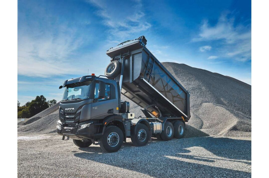 Iveco T-Way Tipper Off Road Launch 2021