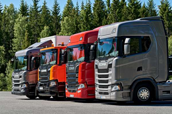 Scania R Series Lineup