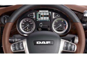DAF XF Interior 2017 facelift model