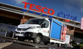 Iveco Daily Tesco Delivery Van 2021