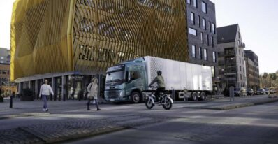 Volvo Electric Truck Sound