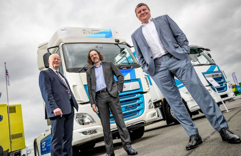 DAF CF Electric Tractor Units Sold