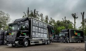 Actros loading low ride